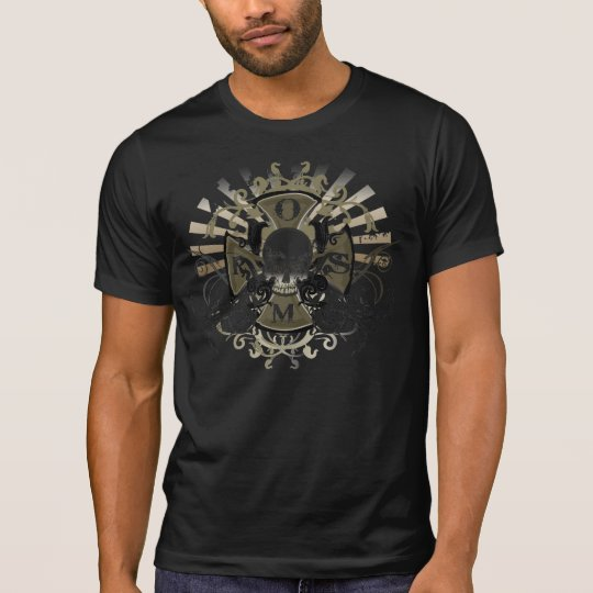 OSMR Destroyed Skull T T-Shirt