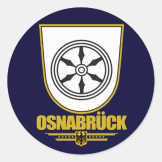 Osnabruck Classic Round Sticker