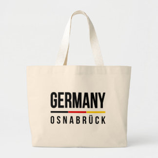 Osnabrück Germany Large Tote Bag
