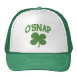 O'Snap irish Shamrock Hats