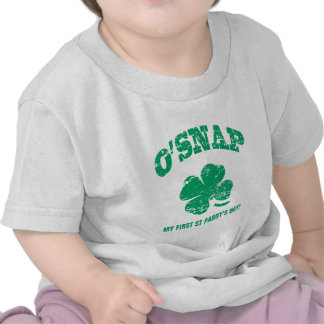 O'SNAP - My first St Patrick's Day! T-shirt