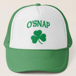 O'Snap Shamrock Trucker Hat
