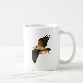 Osprey Fishing Basic White Mug
