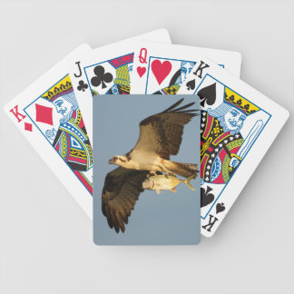 osprey fishing bicycle poker cards