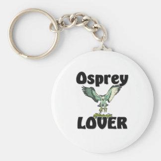 Osprey Lover Basic Round Button Key Ring
