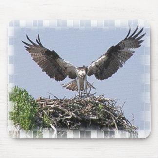 Osprey Nest Mouse Pad