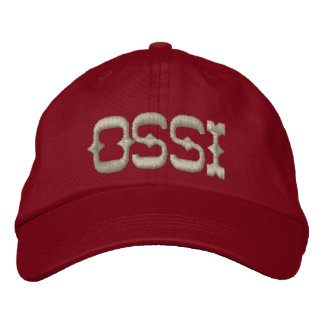 OSSI EMBROIDERED HAT