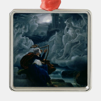 Ossian conjures up the spirits christmas ornament