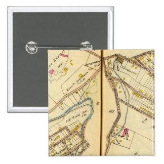 Ossining, New York 3 15 Cm Square Badge