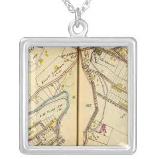 Ossining, New York 3 Silver Plated Necklace