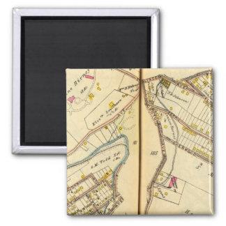 Ossining, New York 3 Square Magnet