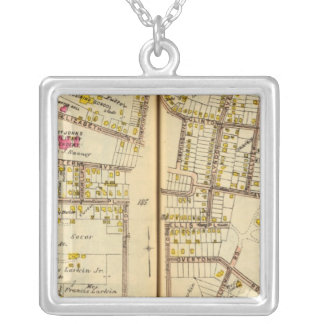 Ossining, New York 4 Silver Plated Necklace