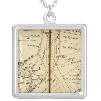 Ossining, New York Silver Plated Necklace