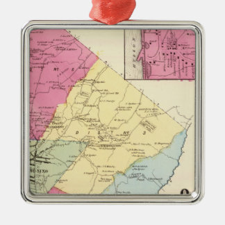 Ossining, Sparta Christmas Ornament