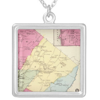 Ossining, Sparta Silver Plated Necklace