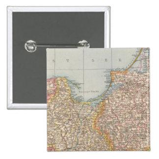 Ost u Westpreussen, East and West Prussia 15 Cm Square Badge