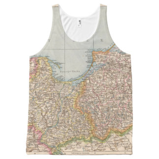 Ost u Westpreussen, East and West Prussia All-Over Print Tank Top