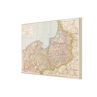 Ost u Westpreussen, East and West Prussia Canvas Print