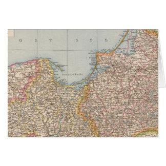 Ost u Westpreussen, East and West Prussia Card