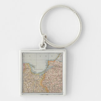 Ost u Westpreussen, East and West Prussia Key Ring