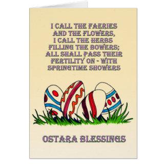 Ostara Blessings: Card