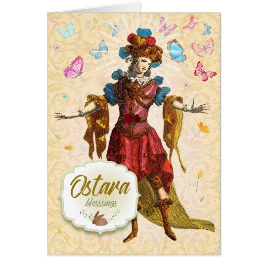 Ostara Blessings Greeting Card
