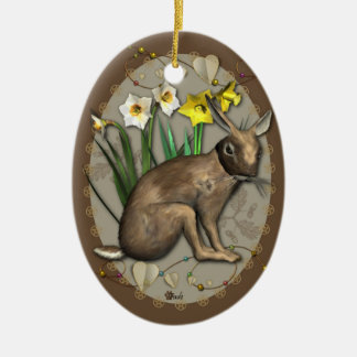 Ostara Hare Ornament