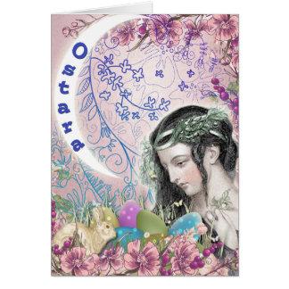 Ostara Pagan Greeting Card
