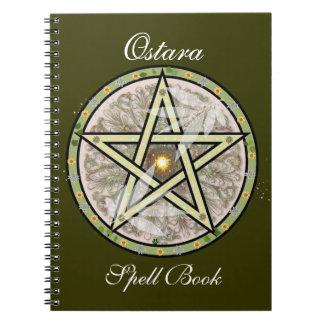Ostara Spell/Notebook Spiral Notebook