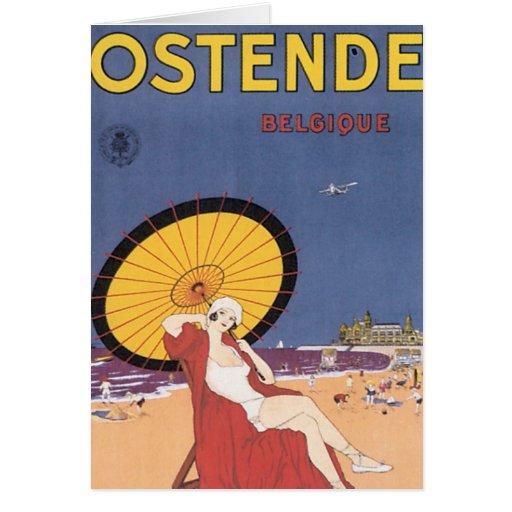 Ostende - Belgique Greeting Card