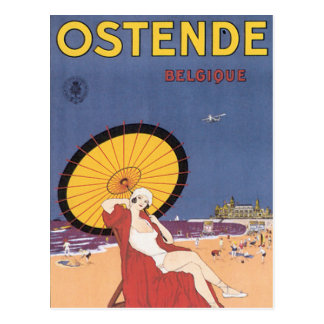Ostende - Belgique Postcard