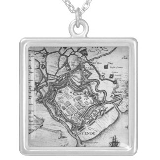 Ostende, from 'Commentaries Silver Plated Necklace
