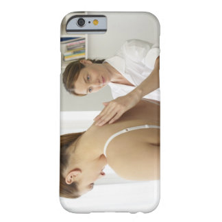 Osteopath treating patient iPhone 6 case