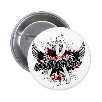Osteoporosis Awareness 16 6 Cm Round Badge