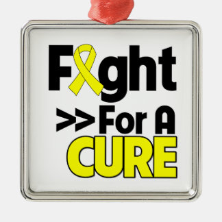 Osteosarcoma Cancer Fight For a Cure Christmas Ornament