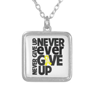 Osteosarcoma Never Ever Give Up Custom Necklace