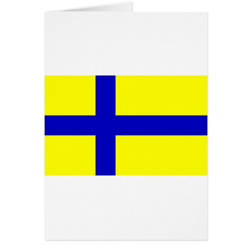 Ostergotland clear, Sweden Greeting Cards