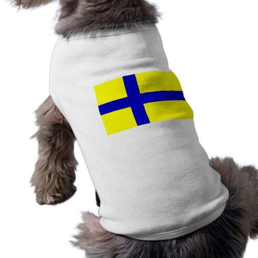 Ostergotland clear, Sweden Doggie Tee