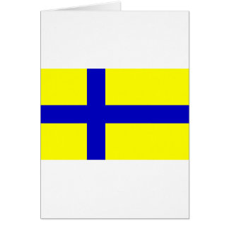Ostergotland clear Sweden Greeting Cards