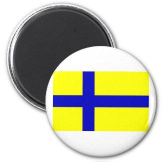 Ostergotland clear, Sweden Fridge Magnets