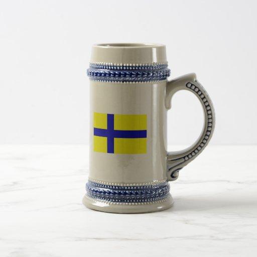 Ostergotland clear, Sweden Coffee Mugs