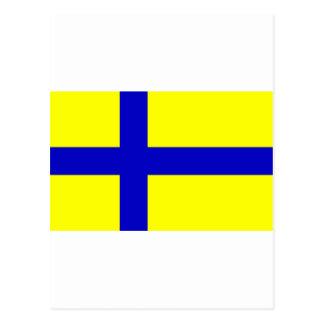 Ostergotland clear Sweden Post Card
