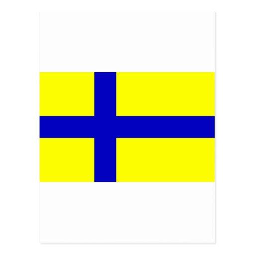 Ostergotland clear, Sweden Post Card