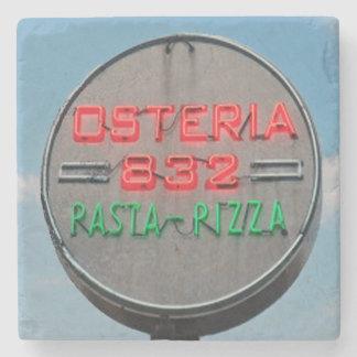 Osteria, Virginia Highland, Atlanta Marble Stone C Stone Beverage Coaster