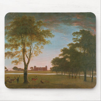 Osterley House and Park at Evening Mouse Mat