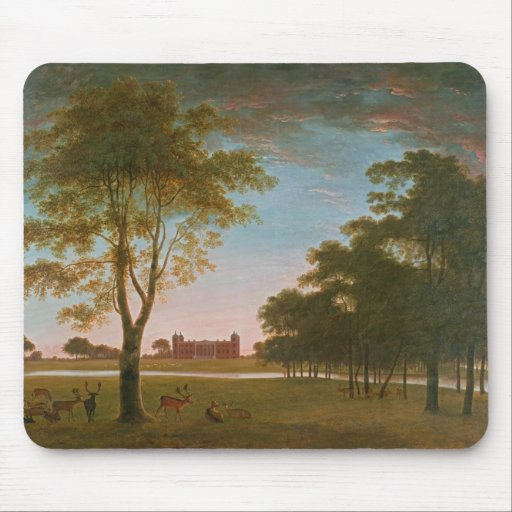 Osterley House and Park at Evening Mousepads