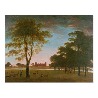 Osterley House and Park at Evening Postcard