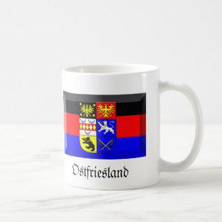 Ostfriesland Flag Gem Basic White Mug