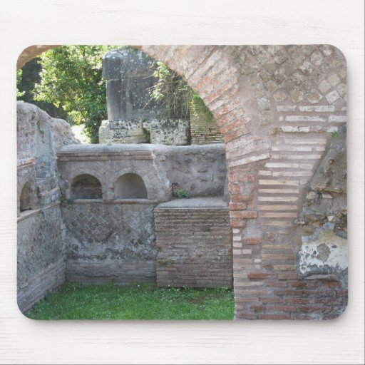 Ostia Antica  - Harbour City of Ancient Rome Mouse Pad
