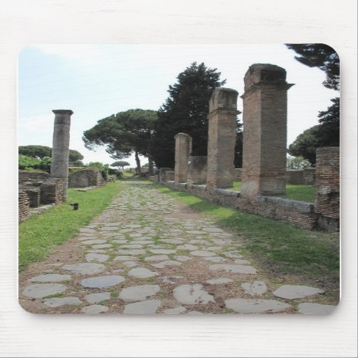 Ostia - Harbour City of Ancient Rome Mouse Mats